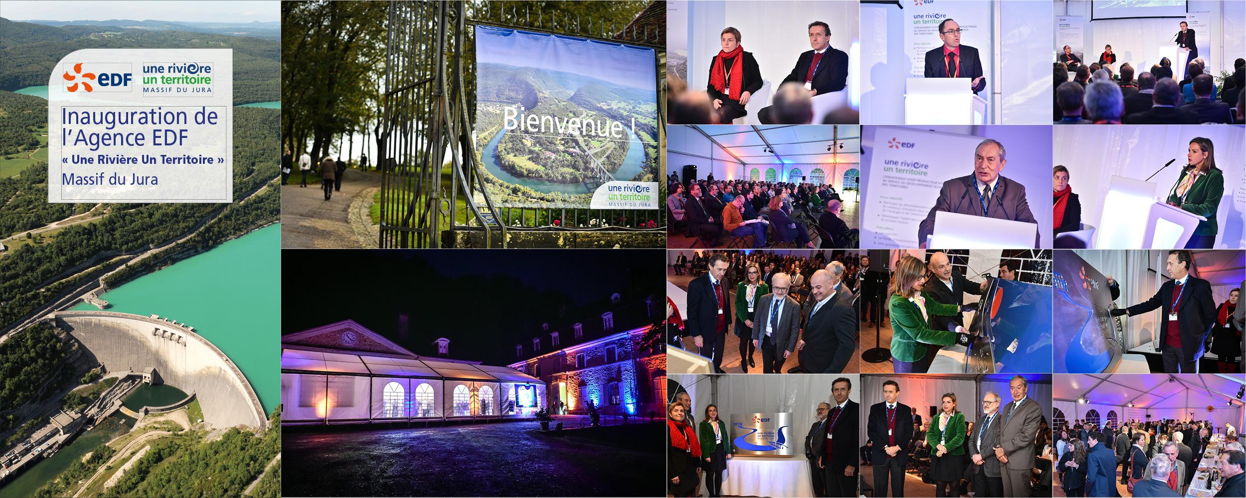 EDF - Inauguration de l'Agence Une Rivière Un Territoire